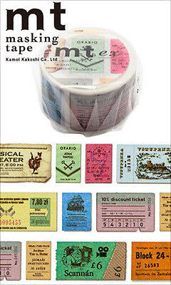 MT Washi Masking Deco Tape EX Tickets Design