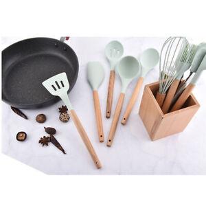 9pcs-Set-Silicone-Kitchen-Utensils-Nonstick-Pot-Pan-Spoon-Cooking-Baking-Tool