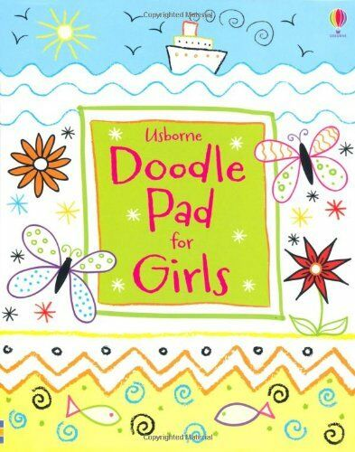 Usborne Doodle Pad for Girls (Usborne Activity Pads),Kirsteen Robson,Maria Pear