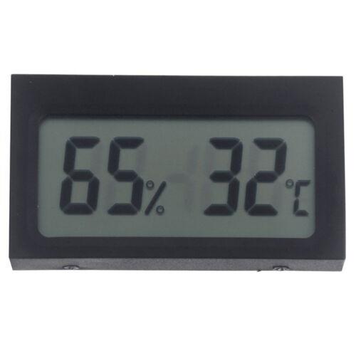 Digital LCD Innen Thermometer Hygrometer Luftfeuchtigkeit D4Q0 I3Y0 Q0Y6
