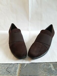 Genuine-Russell-and-bromley-loafers-size-6-5-Swade-brown-colour