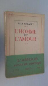 HOMBRE-Y-EL-AMOR-Paul-Geraldy-1951-Pin-Hachette-Paris-Guante-ABE