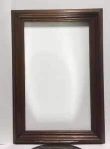 VTG-Aesthetic-Art-039-s-Crafts-Victorian-Wood-Picture-Frame-Fits-12-3-4-034-x-20-3-4-034