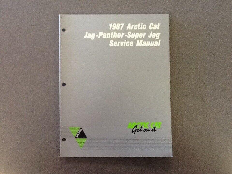 ARCTIC CAT OEM SERVICE MANUAL 1987 JAG PANTHER SUPER JAG 2254-351