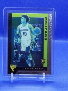 Jaxson-Hayes-19-20-Panini-Chronicles-Flux-Rookie-Rc-592-SP-Pelicans
