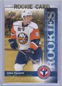 2009-10-Upper-Deck-UD-John-Tavares-Rookie-Card-RC-1-NHCD-Mint