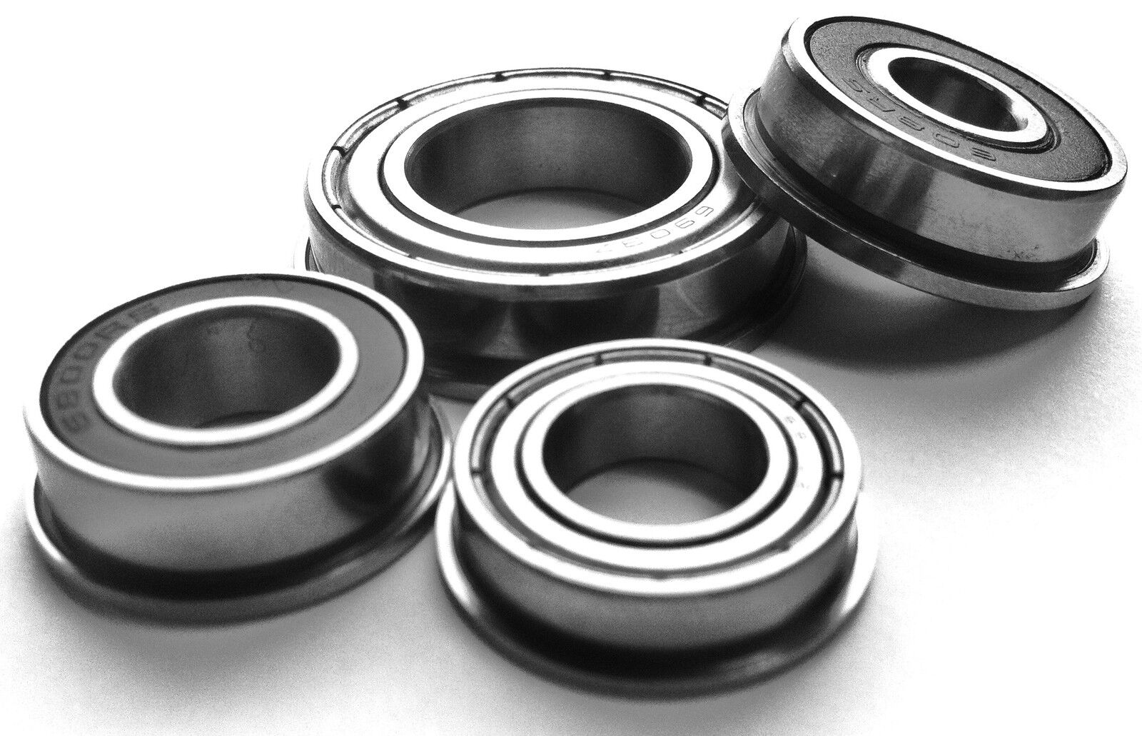 F6000-F6001 SERIES FLANGED METRIC BEARINGS Rubber Sealed or Shielded