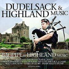 CD  Dudelsack And Highland Music von  Various Artists    2CDs