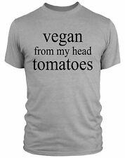 Social Vegan I avoid Meet funny T Shirt Christmas Birthday M//F//Y sizes 7 Colours