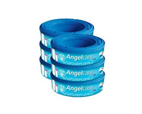 Angelcare Nappy Disposal system Refill Cassettes Pack of 6