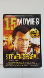 ** 15 Action Movies Pack - 3-Disc Set (DVD) - Chuck Norris - Free Shipping!