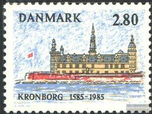 Dänemark 846 kompl.ausg. Postfrisch 1985 Schloß Kronborg Delikatessen Von Allen Geliebt