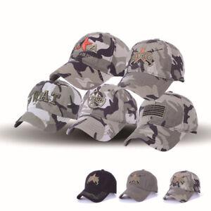 05ae55d20d4 Camo Jeep Hat Women Men baseball Golf Sports Outdoor Casual Sun Cap ...