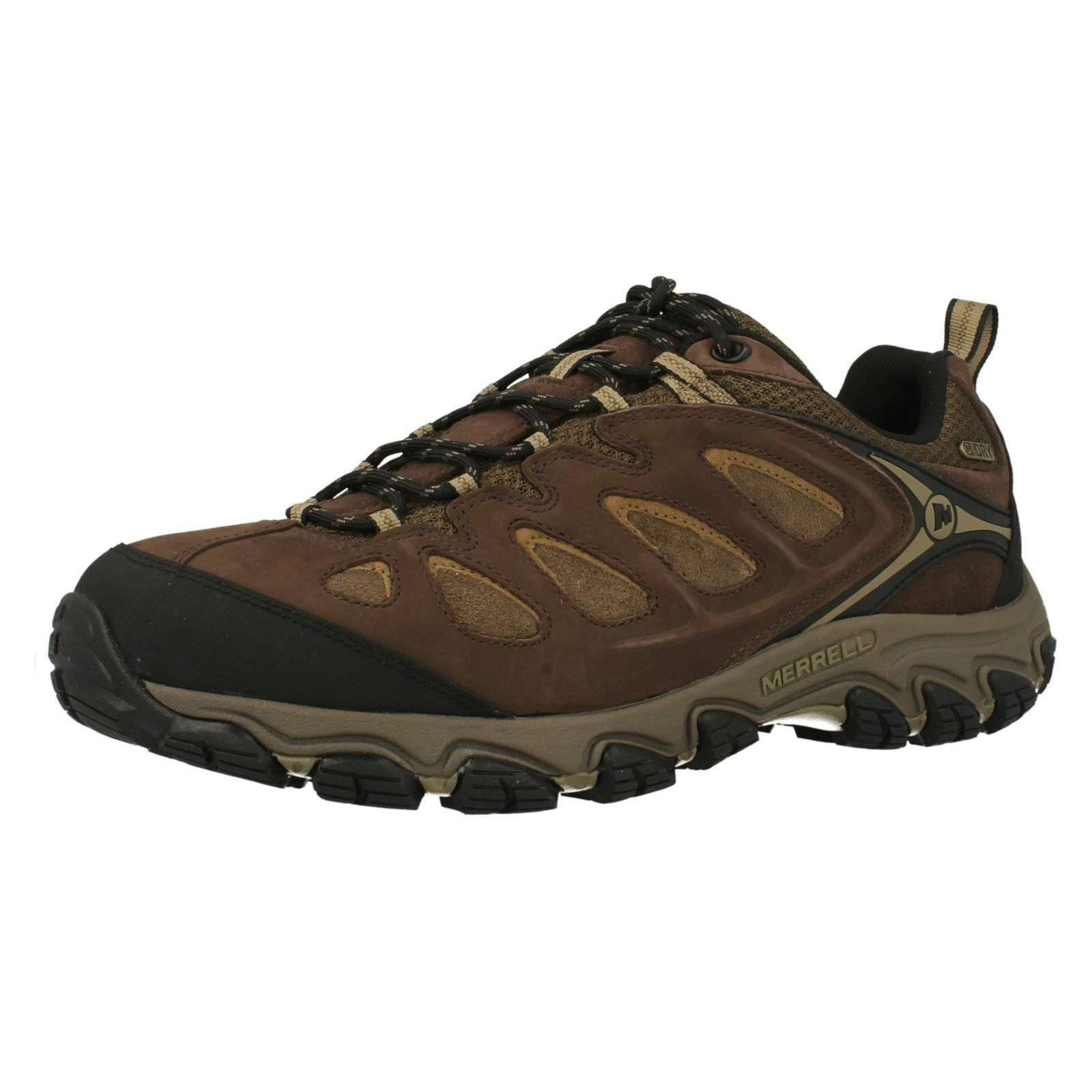 Merrell Pulsate Waterproof Espresso Lace Up Walking Style Trainers