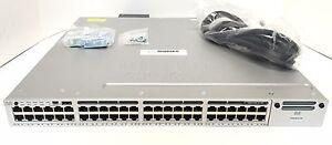 WS-C3850-48P-S-Cisco-Catalyst-3850-48Port-GE-POE-GE-IP-BASE-715W-PS