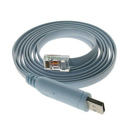USB RJ45 Cisco Console Cable FTDI Windows 8 7 MAC Linux RS232 6FT  83351404147 | eBay