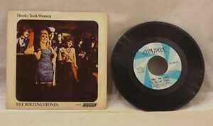 VINTAGE-45-RPM-RECORD-ROLLING-STONES-HONKY-TONK-WOMEN-YOU-CAN-039-T-ALWAYS-GET-4