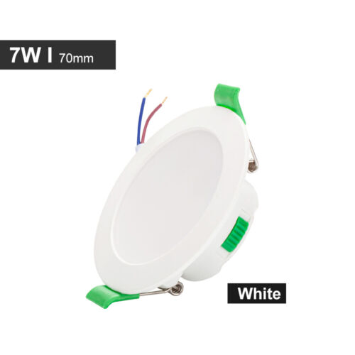 7W LED Downlight Ultra Slim Recessed Flat Panel Ceiling Spotlight Dimmable 230V