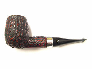 Peterson-House-Pipe-Billiard-Rustic-P-Lip-with-FREE-Pipe-Tool
