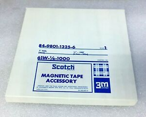 Scotch-7-034-Reel-84-9801-1325-6-Magnetic-Tape-Accessory