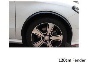 2x-radlauf-carbon-opt-seitenschweller-120cm-fuer-Nissan-Vanette-kasten-C120-Neu
