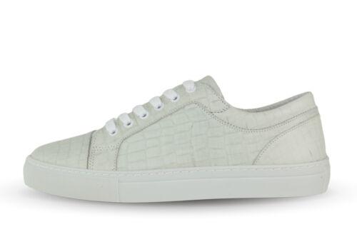 Boom bap Shun 0056 Snake//Croco 651-Triple White Croco-blanco nuevo