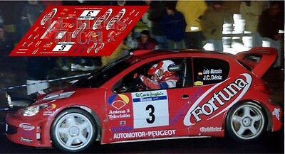 Calcas Ferrari 360 Rally Canarias 2015 1:32 1:43 1:24 1:18 slot Martin decals