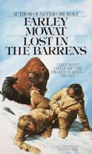 Lost-in-the-Barrens-Paperback-by-Mowat-Farley-Brand-New-Free-shipping-in