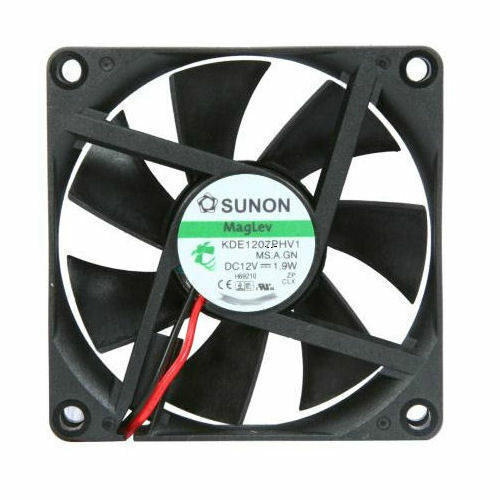 Sunon 70m x 15mm 3300RPM DC 12V MagLev Fan 4-Pin KDE1207PHV1