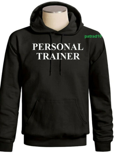 Personal Trainer Sweatshirt Fitness exercise Gym Workout Hoodie SZ S-3XL