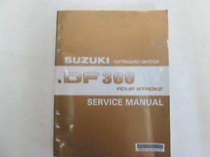 2007 suzuki outboard motor df300 four stroke service manual factory rh ebay com Twin Suzuki DF300 suzuki df 300 service manual download