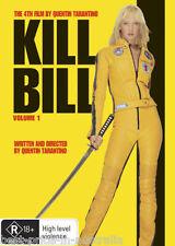 KILL BILL: Volume 1 DVD Quentin Tarantino TOP 250 MOVIES Uma Thurman R4