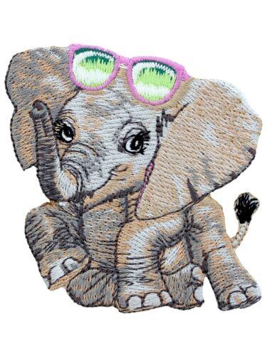 Patch Animal Club Elephant 7x7cm