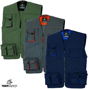 Delta-Plus-Panoply-M2GI2-Mach-2-Mens-Multi-Pocket-Work-Vest-Tool-Vest-Jacket