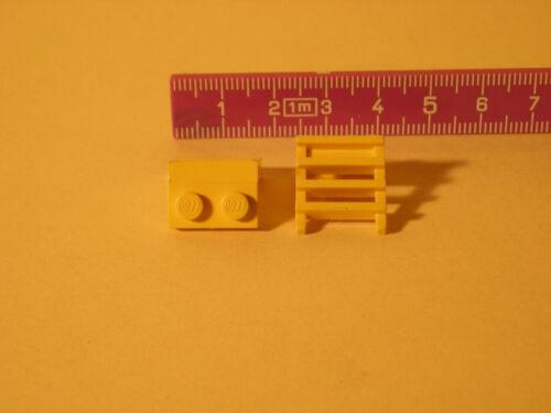 LEGO ERSATZSTEINE 5 Stk gelb Leiterecksteine