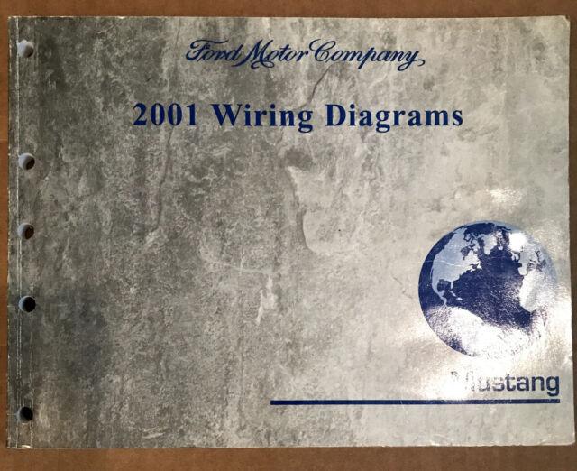 2001 Ford Mustang Service Wiring Diagrams Manual Original