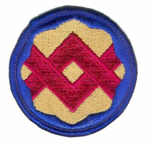 FULL COLOR 32ND SUPPORT BRIGADE PATCH