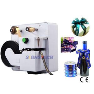 Smart Digital Ribbon Printer Hot Foil Printing Machine Stamping 32mm,Free Foils