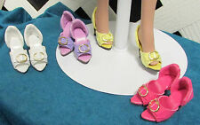 Doll Shoes, 48mm Patent Party Pumps for Tyler in Light Purple