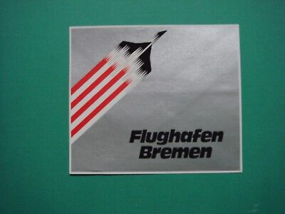 Transport Diligent Flughafen Bremen Bilder & Fotos Aufkleber 10,0 X 8,5 Neu
