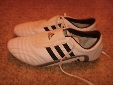 Adidas Martial Arts Indoor Shoes White Black Mens Size 13