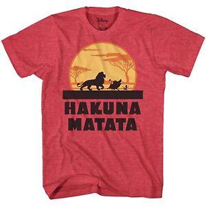 Lion-King-Hakuna-Matata-Disneyland-Disney-World-Adult-Mens-Tee-Graphic-T-shirt
