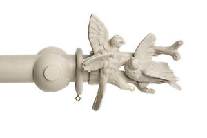 45mm Seconds Designer French Dove Bird Curtain Pole Finial