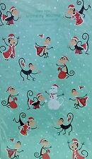 "SHAG JOSH AGLE ""MONKEY MANIA"" Advent Calendar Art Card Mid-Century 11 x 18"