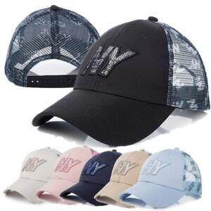 NY Baseball Cap Unisex Sport Hats Sunhat Embroidery Cotton