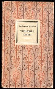 van-de-Woestijne-Karel-Toedlicher-Herbst-Gedichte-1941