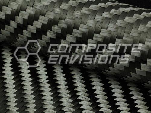 Fibra De Carbono Paño tejido 2x2 Twill 39,37  15.000 4.7 oz/160gsm propagación de remolque de 15mm