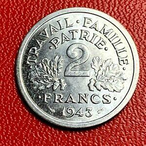 5496-2-francs-1943-Morlon-SPL-Magnifique-FACTURE