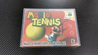 Mario Tennis Nintendo 64 N64 Case With Free Artwork No Game