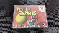 Mario Tennis Nintendo 64 N64 Case With Free Artwork No Game
